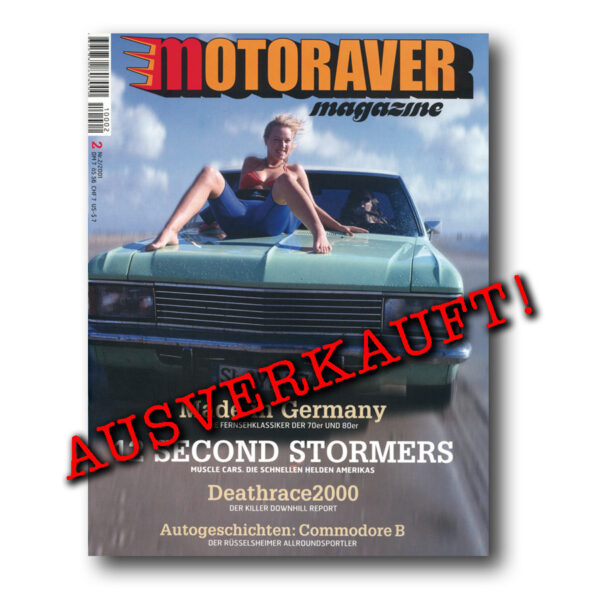 Motoraver Magazin #02, German Issue