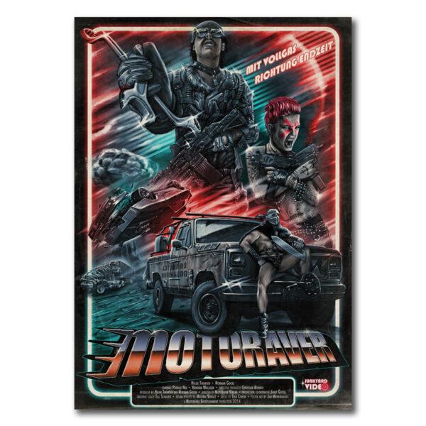 """Poster Wasteland: Drivestyle Poster #3, Das offizielle Filmplakat zur Sonderausgabe """"Wasteland Issue""""."""