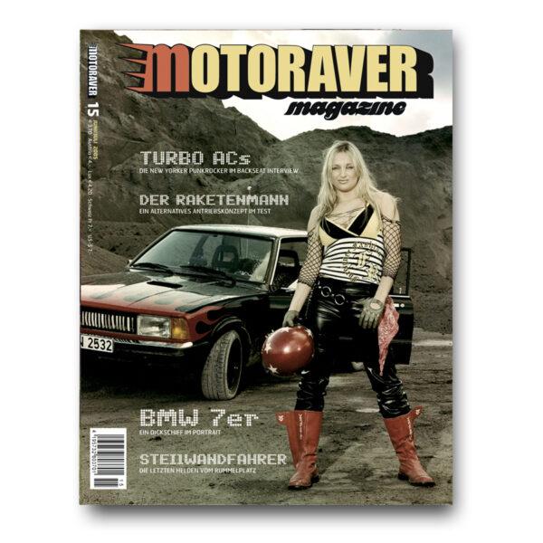 Motoraver Magazin #15, Raketen Issue