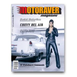 Motoraver Magazin #16, V8 Kommando Issue