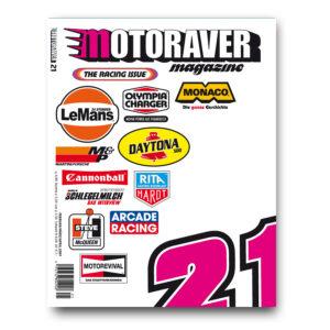 Motoraver #21, Racing Issue