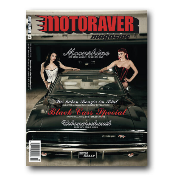 Motoraver Magazin #23, Black Issue